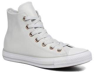 Converse Women's Chuck Taylor All Star Craft SL Hi Lace-up Trainers in White