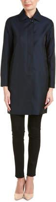 Cinzia Rocca Due Jacquard Cocoon Jacket