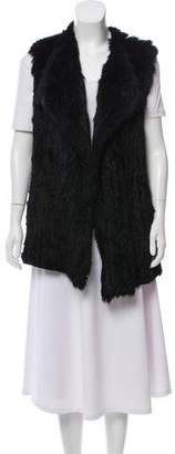 Diane von Furstenberg Denver Fur Vest