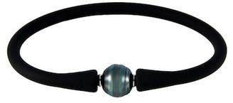Splendid Pearls 9-10mm Black Tahitian Pearl Bracelet