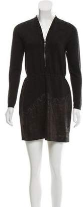 D-Exterior D. Exterior Long Sleeve Dress
