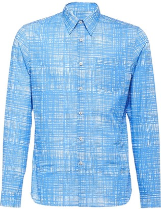 227a1d6482 Prada Poplin Men's Shirts - ShopStyle
