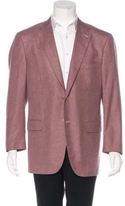 Isaia Cashmere & Silk Blazer