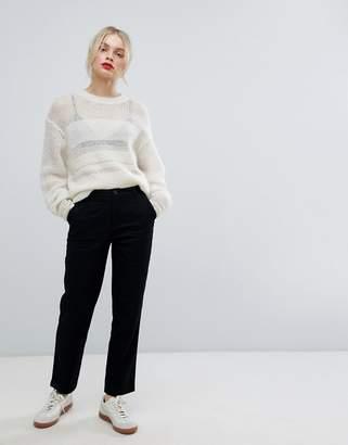 Asos DESIGN chino pants in black