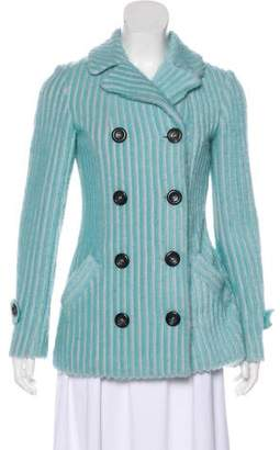 Missoni Long Sleeve Wool & Mohair-Blend Jacket