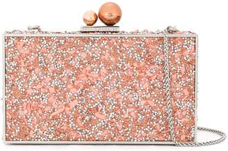 Sophia Webster square crystal clutch bag