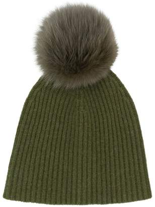 5fa4ea275cb Yves Salomon Accessories knit pom pom beanie