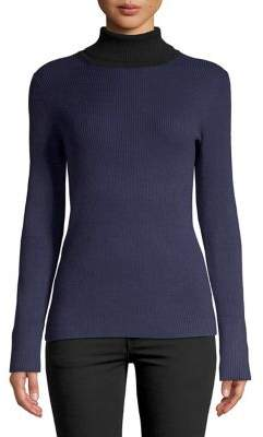 Calvin Klein Ribbed Turtleneck Pullover