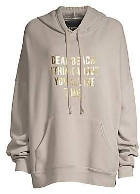 Le Superbe Women's Oversized Graphic Hoodie