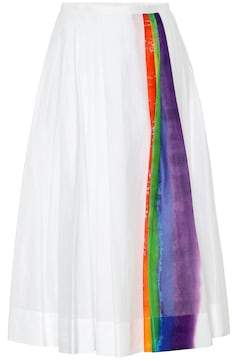 Burberry Rainbow cotton skirt