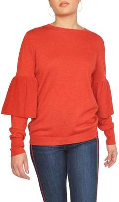 Just Female Red Bell Sweater