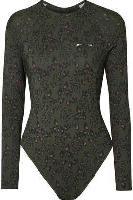 The Upside Leopard-print Swimsuit - Leopard print