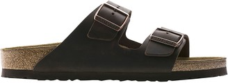 Birkenstock Arizona Soft Footbed Leather Narrow Sandal - Women's