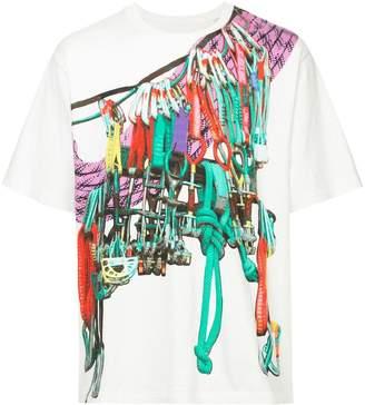 White Mountaineering printed T-shirt