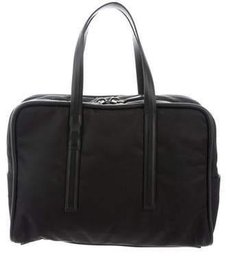 Calvin Klein Collection Leather-Trim Nylon Briefcase