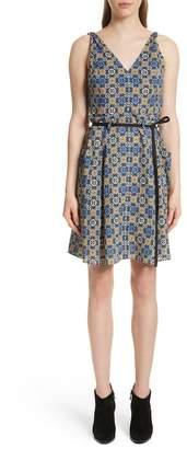 Derek Lam 10 Crosby Tile Pattern Cotton Dress