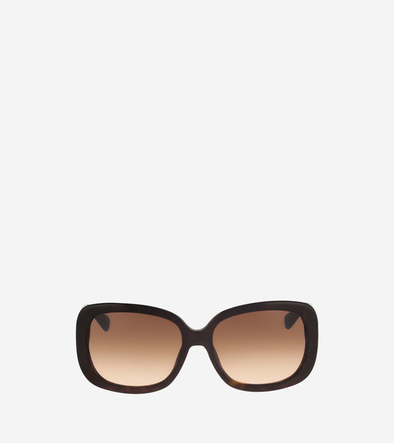 Cole Haan  Rectangle Acetate Sunglasses