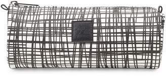 Saks Fifth Avenue Cross Hatch Cosmetic Bag