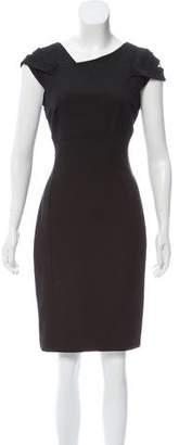 Reiss Short Sleeve Knee-Length Dress