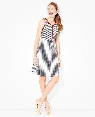Women Stripes Of Summer Dress $98 thestylecure.com