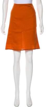 Prada Embellished Knee-Length Skirt