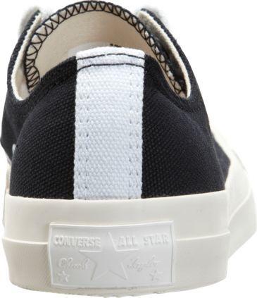 Comme des Garcons Women's Chuck Taylor Low-Top Sneakers-Black Siz