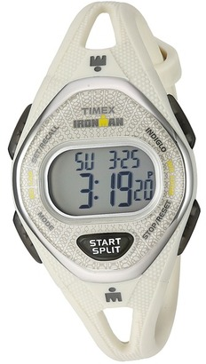 Timex - Ironman Sleek 50 Mid-Size Silicone Strap Watches $70 thestylecure.com