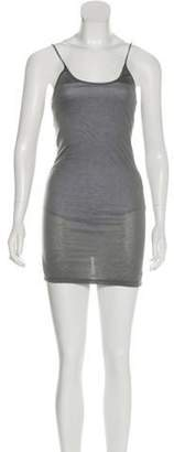Thomas Wylde Mini Graphic Dress w/ Tags Grey Mini Graphic Dress w/ Tags