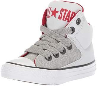 Converse Boys' Street Heather Canvas High Top Sneaker