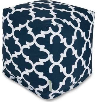 Generic Majestic Home Goods Trellis Bean Bag Cube, Indoor/Outdoor