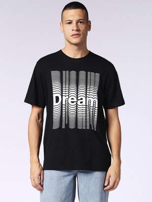 Diesel T-Shirts 0091B - Black - 3XL