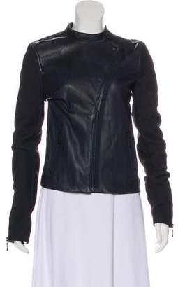 J Brand Leather Moto Jacket