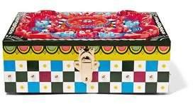 Dolce & Gabbana Embellished Painted Wood Jewelry Box
