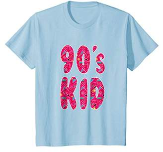 "Retro ""90s Kid"" 1990s Colorful Nostalgia T-Shirt"