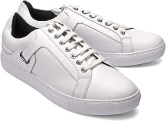 Versace Belted Leather Sneaker