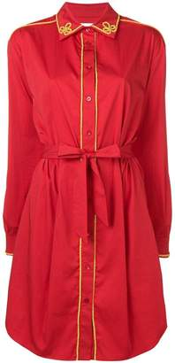 Moschino long sleeve shirt dress