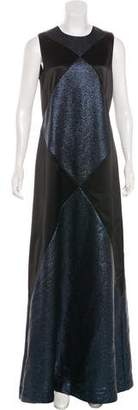 Tory Burch Metallic Evening Dress w/ Tags