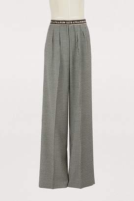 Marco De Vincenzo Wide wool pants