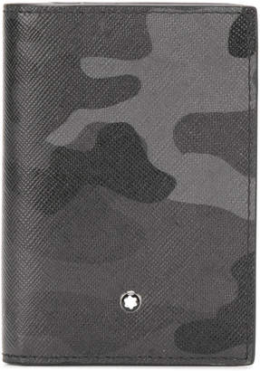Montblanc camouflage business card holder