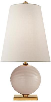 Kate Spade Corbin Table Lamp - Blush/Brass