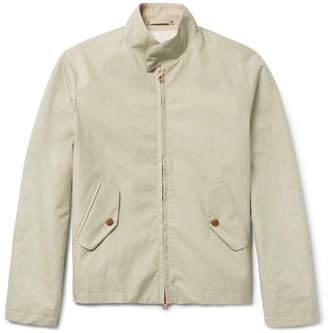 Private White V.C. Cotton Ventile Ripstop Harrington Jacket