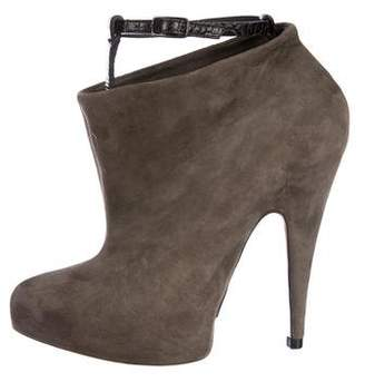 Givenchy Suede Ankle Booties