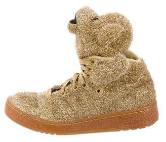 Jeremy Scott x Adidas Tinsel Bear Sneakers