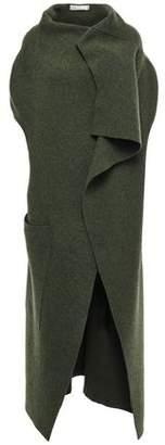Victoria Beckham Draped Wool-blend Vest