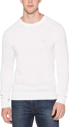 Original Penguin HONEYCOMB PIQUE SWEATER