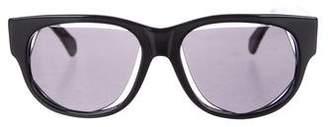 Maison Margiela Cutout Tinted Sunglasses