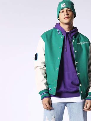 Diesel Leather jackets 0GAQQ - Green - L