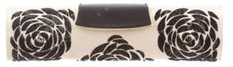 Sergio Rossi Sequined Satin Clutch gold Sequined Satin Clutch