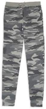 Splendid Girl's Camo Print Sweatpants