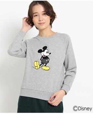 Dessin (デッサン) - Dessin(Ladies) 刺繍スウェット(ミッキーマウス) デッサン カットソー